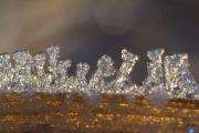 Iskristaller i motljus