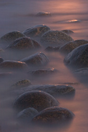 Klippor i vattenslöja
